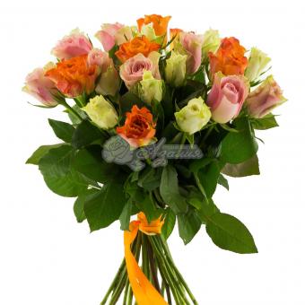 Букет из 25 роз Кения